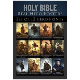 Bible 12 Set Real Hero Posters