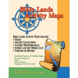 Map: Bible Land Activity Maps Set, laminated