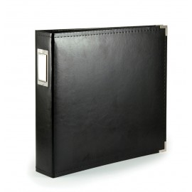 Binder - Classic Leather 8x8 Black