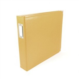 Binder - Classic Leather 12x12 Ring Buttercup