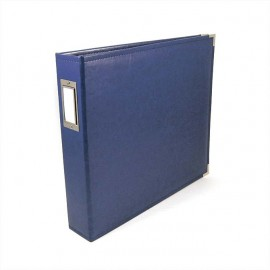Binder - Classic Leather 12x12 Ring Colbalt