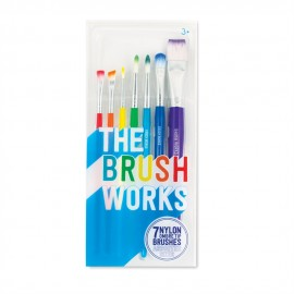 The Brush Works Paint Brushes (Set of 7)