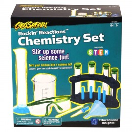 GeoSafari Rockin' Reactions Chemistry Set
