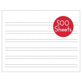 Handwriting Without Tears Grade K-1 Wide Paper (500 Sheets)