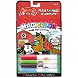 Magicolor Coloring Pad: Farm Animals (with Marker)