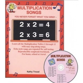 Multiplication Songs - CD