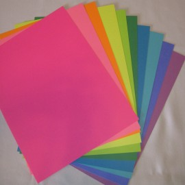 Brite Colors, Cardstock Assorted Colors  8.5x11 (50 pkg)