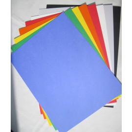 Primary Colors, Cardstock Assorted Colors  8.5x11 (25 pkg)