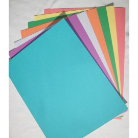 Paper - Secondary Colors, Cardstock Assorted Colors  8.5x11 (50 pkg)