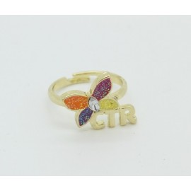 Ring - CTR Sparkle Butterfly Ring