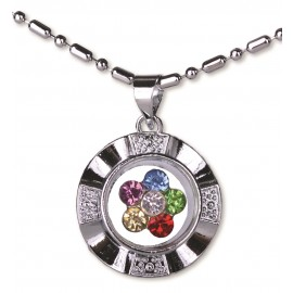 Spinner Multi Color Necklace