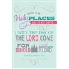Journal - Stand Ye in Holy Places