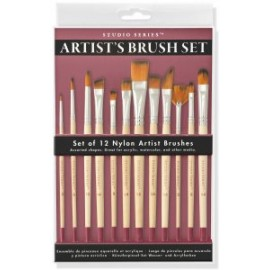 Studio Series Artist's Paintbrush Set