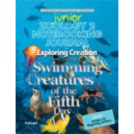 Exploring Creation with Zoology 2: Swimming Creatures of the Fifth Day - Junior Notebooking Journal