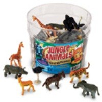 Jungle Animal Counters (set of 60)