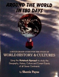 Around the World in 180 Days - Textbook set