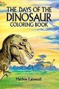 Coloring Book - Days of the Dinosaur