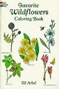 Coloring Book - Favorite Wildflowers