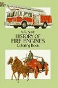 Coloring Book - History of Fire Engines