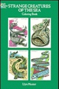 Coloring Book - Strange Creatures of the Sea