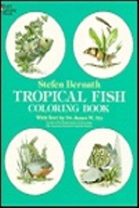 Coloring Book - Tropical Fish