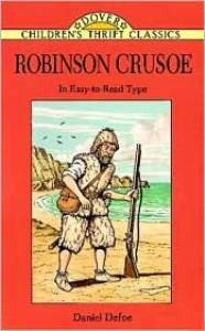 Robinson Crusoe (Children's Thrift Classics)