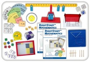 RightStart Math - Level B Starter Kit (Grade 1)