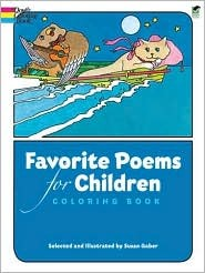 Coloring Book - Favorite Poems for Children