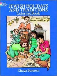 Coloring Book - Jewish Holidays and Traditions