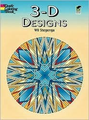 Coloring Book - 3-D Designs