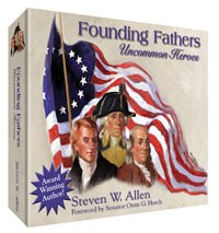 Founding Fathers Uncommon Heroes: LDS Edition - CD