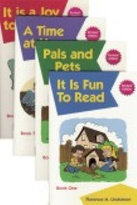Kindergarten Phonics Readers (4 books)
