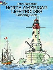 North American Lighthouses (Coloring Book)