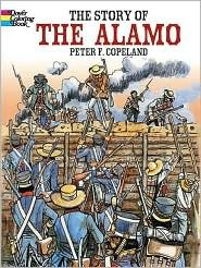 The Story of the Alamo (Coloring Book)