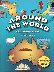Around the World (Coloring Book)