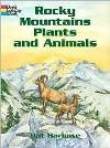 Rocky Mountains Plants and Animals (Coloring Book)