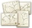 Literature Approach: Geography Maps (set of 4 18x24)