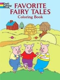 Favorite Fairy Tales (Coloring Book)