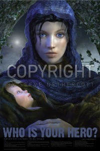 Mary, Mother of Jesus 24x36 Poster