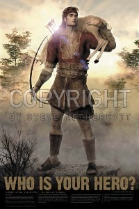 Nephi Hunting 24x36 Poster