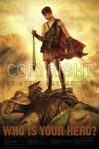 David and Goliath 11x17 Poster