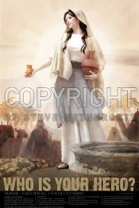 Rebekah at the Well 24x36 Poster