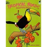Coloring Book - Tropical Birds