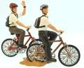 Missionaries on Bicycles set 5 - figures