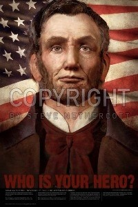 Abraham Lincoln 24x36 Poster