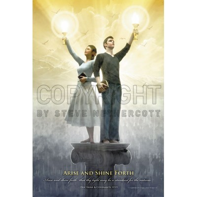 Arise and Shine Forth 11x17 Poster