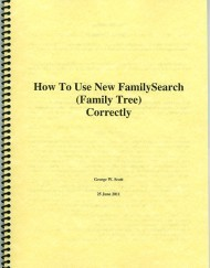 How to Use New FamilySearch