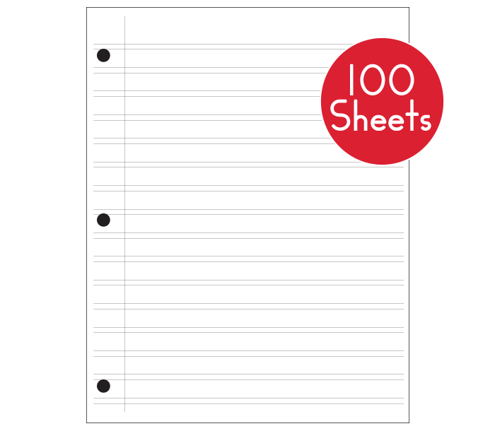Handwriting Without Tears Grade 4-5 Narrow Paper (100 sheets)