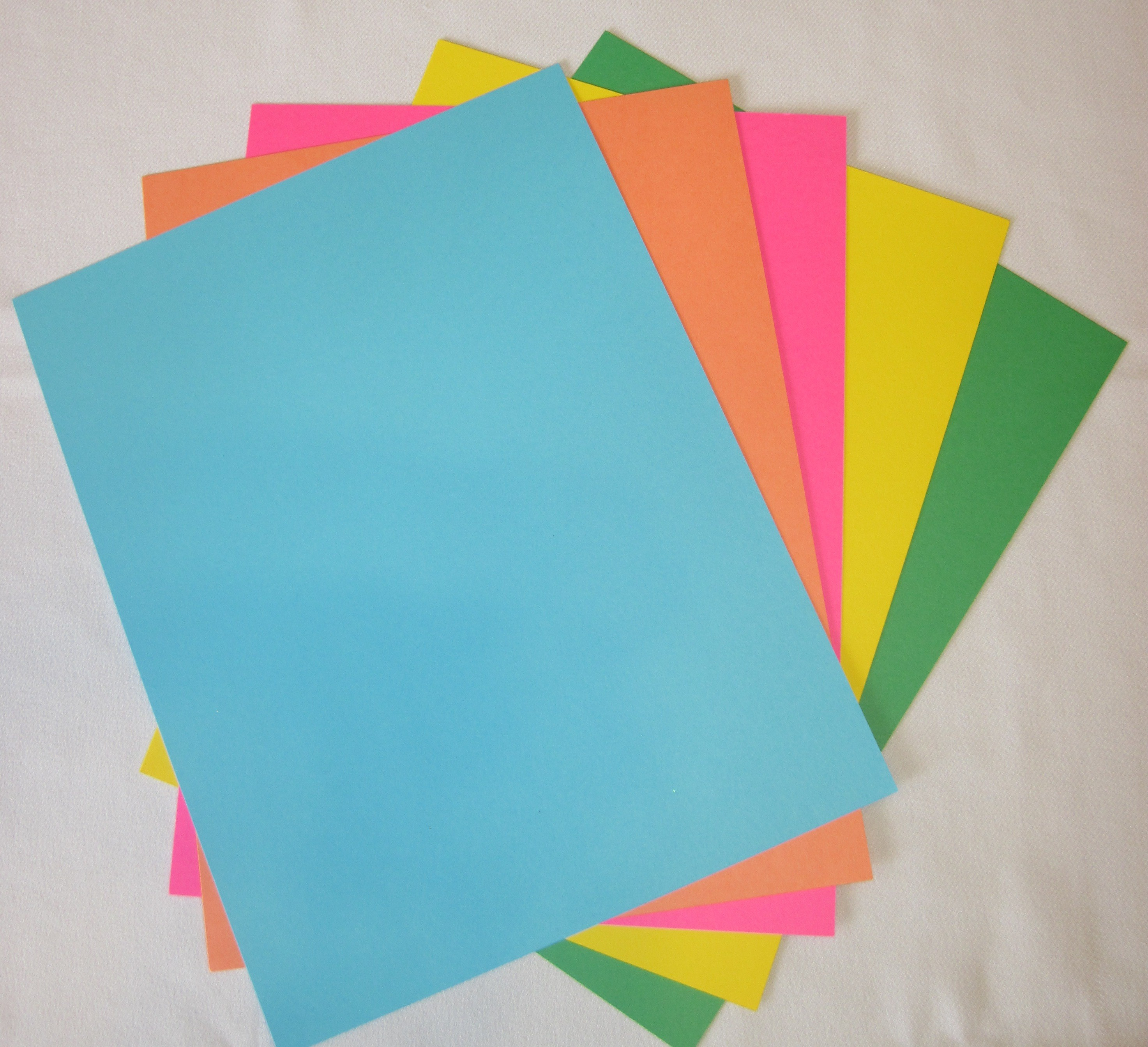 Summer Colors Cardstock (50 pack)