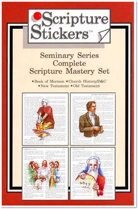 Scripture Stickers Seminary - Complete Set